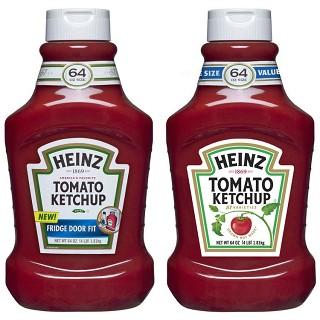 Neues Heinz Logo, wie soll man nach so einer Logoänderung noch die Flaschen wiedererkennen ?