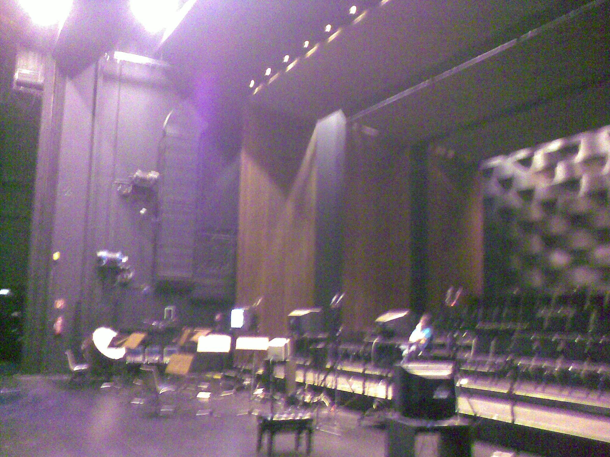 Backstage Bereich AIDA